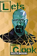 Notebook: Crystals Breaking Bad , Journal for Writing, College Ruled Size 6