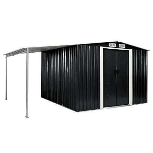 vidaXL Gerätehaus mit Schiebetüren...