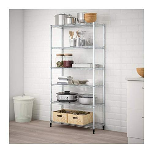 IKEA Omar 1 Section Shelving Unit 698.290.83 Size 36 1/4x14 1/8x71 1/4