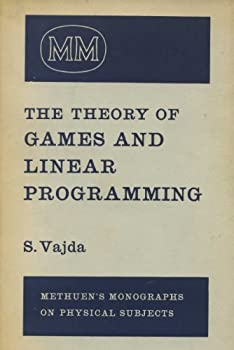 Hardcover The Theory of Games and Linear Programming Book