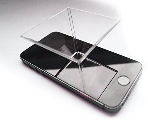 Spectre 3D Hologram Projektor für jedes Smartphone - Preis Packung 2 enthalten.