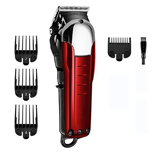 Profi Haarschneider Herren Haarschneidemaschine Elektrischer Männer Haartrimmer Führungskämme Haarschnitt Set Fauay