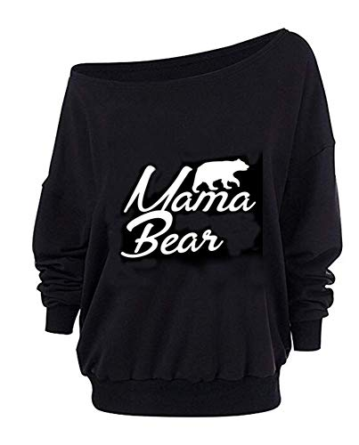 Mama Bear Off Shoulder Sweater