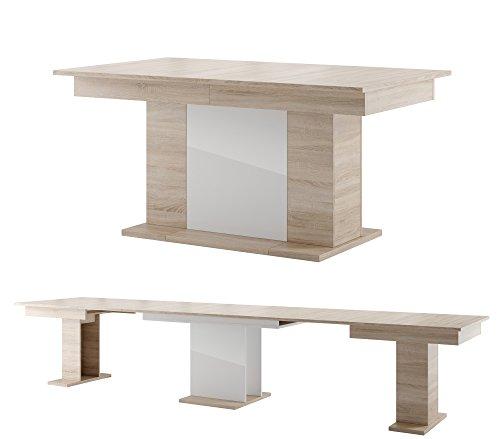 Furniture24 Tisch Star Esstisch Säulentisch ausziehbar
