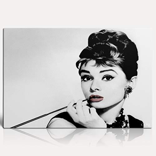 Pip Audrey Hepburn Póster de pintura 12'X18' Las 50 personas más bellas del mundo Audrey Hepburn Salón decorativo