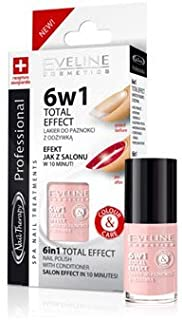 Eveline Cosmetics 6 in 1 Total Effect Nail Treatment with Conditioner (791)