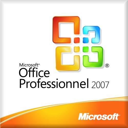 Microsoft Office Professional 2007 OEM (1 poste)
