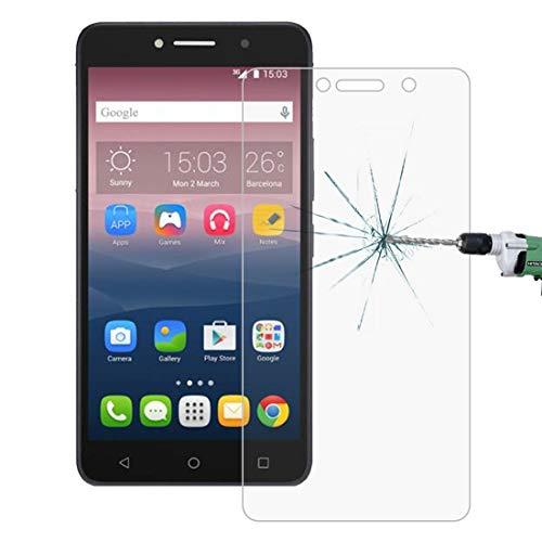 Zhangsihong película de cristal templado 100 PCS for Alcatel One Touch Pixi 4 y 3 6 pulgadas 0.26mm 9H Dureza superficial 2.5D película protectora de pantalla de vidrio templado a prueba de explosione