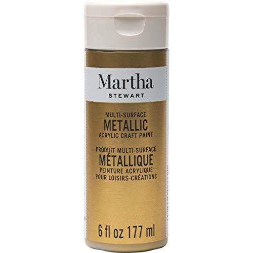 Martha Stewart Crafts Metallic Craft Paint GOLD