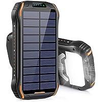 Xiyihoo i26s 26800mAh Portable Solar Power Bank w/Flashlight