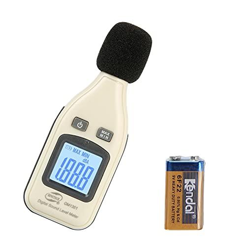 Decibel Meter/Sound Pressure Level Reader (SPL) / 30-130dBA Range