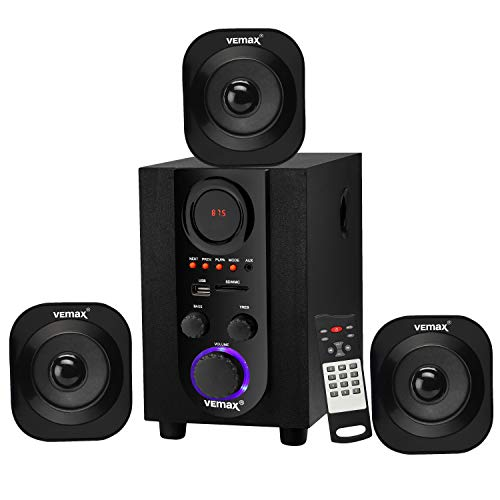 Vemax Oslo 3.1 Bluetooth Home Theater System