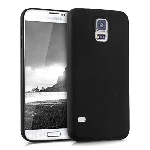 kwmobile Hülle kompatibel mit Samsung Galaxy S5 / S5 Neo - Hülle Handyhülle - Handy Case in Schwarz matt
