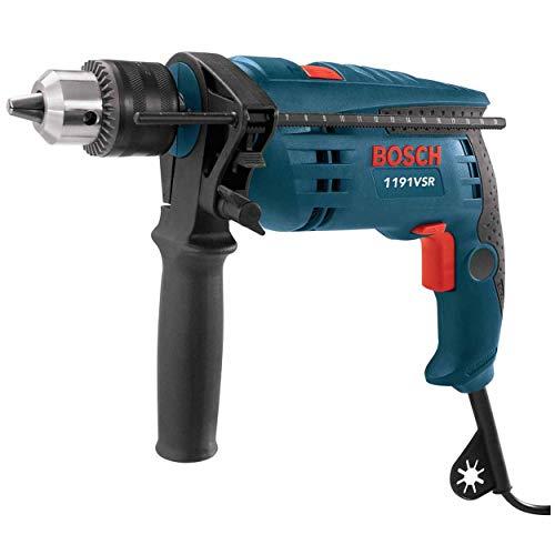 Bosch 1191VSRK-RT 120V 1/2-Inch Single Speed Hammer Drill (Renewed)