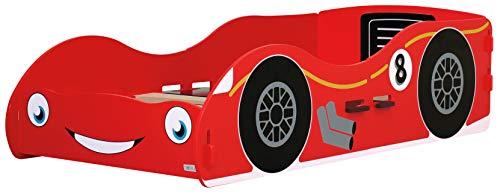 , Racing Car Kinderbett und Nachttisch,40293