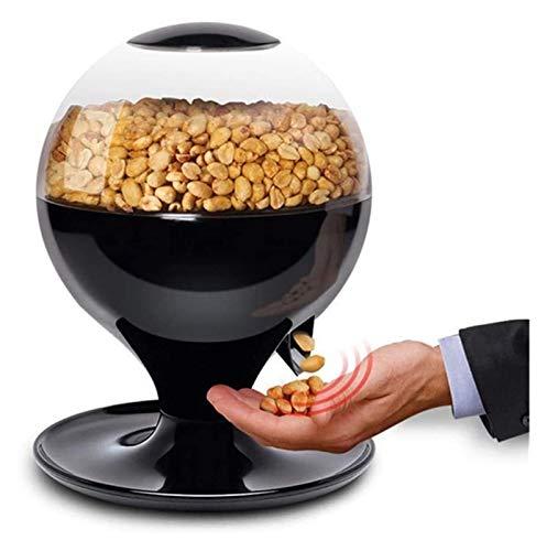 XIAOGING Movimiento activado Máquina del caramelo, caramelo Mini automático sin contacto Snack-dispensador for la pequeña Gum, frutos secos, snacks, Fácil de llenado del frasco Treat for Kids
