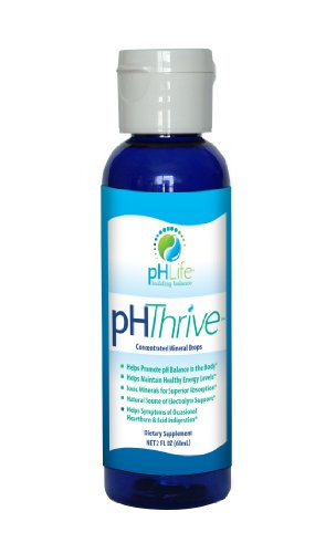2 oz pH Thrive Alkaline Mineral Drops, pH Drops, Alkaline Minerals