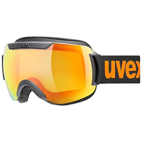 uvex Unisex– Erwachsene, downhill 2000 CV Skibrille, black mat, one size