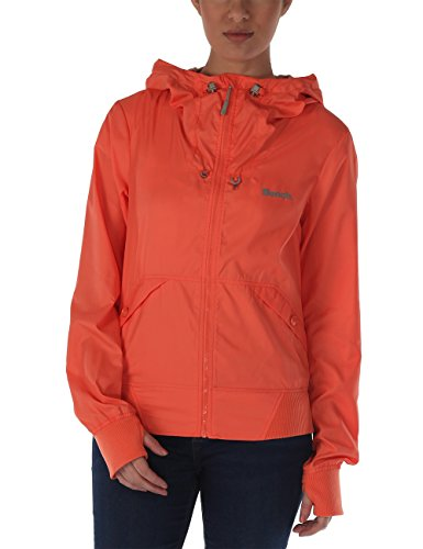 Bench Damen Jacke Bomberjacke Onetimer II B orange (Coral) Small