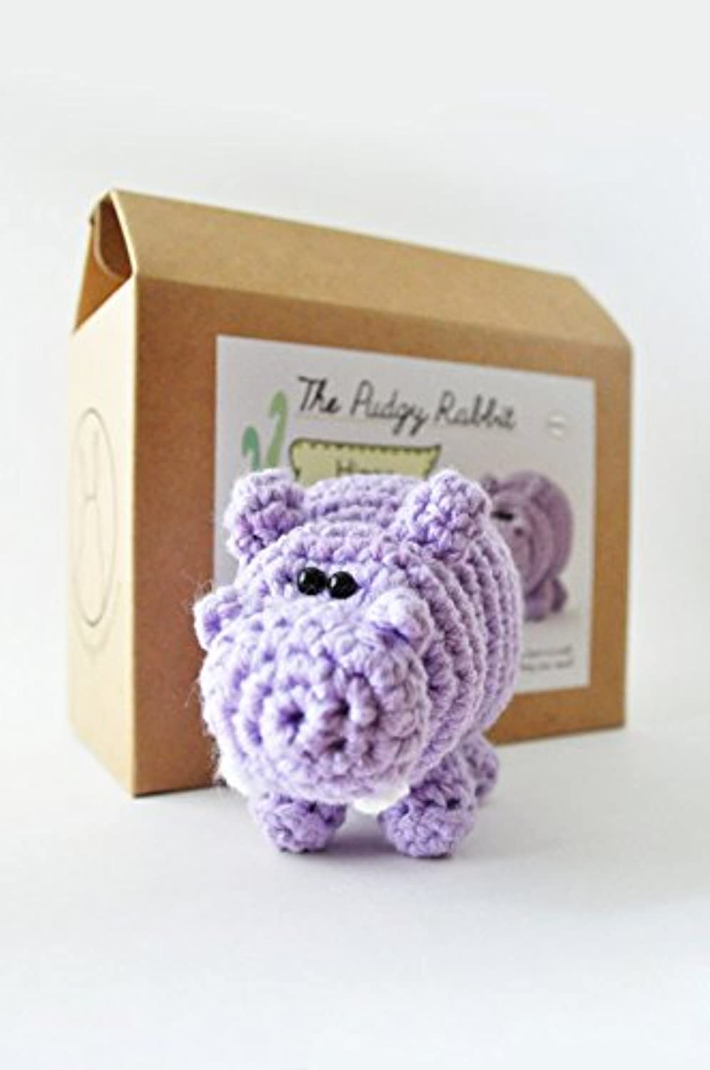DIY Beginner Crochet Kit (Hippo)