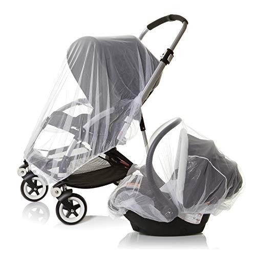 Dreambaby 2 Moustiquaire universelle pour Parc a Bébé, poussettes, nacelle, couffin, cosy et lit