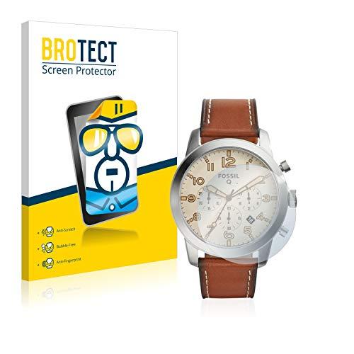BROTECT Schutzfolie kompatibel mit Fossil Q Pilot 54 (2 Stück) klare Bildschirmschutz-Folie