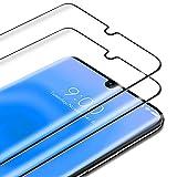 TAMOWA Protector de Pantalla para Xiaomi Mi Note 10/ Note 10 Pro (2 Piezas), 3D Cubierta Completa Vidrio Templado 9H Dureza Cristal Templado Premium, Anti-Huella Digital, Anti-Scratch (Negro)