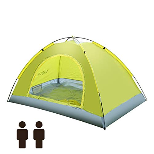 LDDLDG Camping Tents Dome Tent, Also Ideal for Camping in the Garden, Lightweight Camping and Hiking Tent, 100 Percent Waterproof, Sewn-in Groundsheet