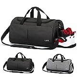 Foldable Travel Duffel Bag, Vlikeze Sports Gym Bag Training Handbag Waterproof Duffle Bag