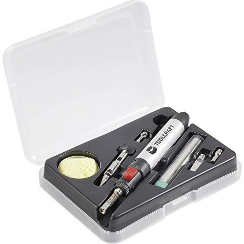 Toolcraft 7 IN 1 GASLOETKOLBEN-Set PT237
