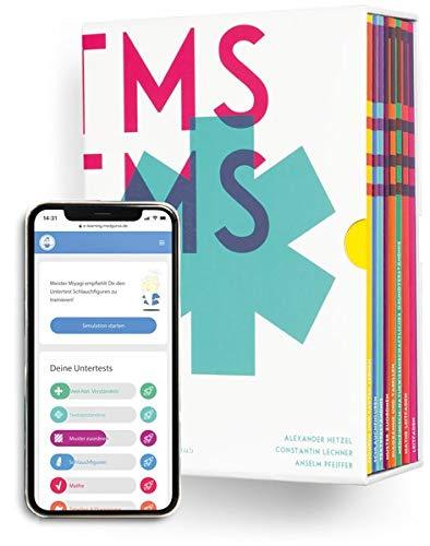 Medizinertest TMS / EMS Erfolgspaket I Paket aus umfangreichem TMS Kompendium inklusive komplettem E-Learning Zugang I Vorbereitungs-Box für den Medizintest in Deutschland und der Schweiz