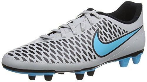 Nike Herren Magista Ola FG Fußballschuhe, Grau (Wolf Grey/Turqoise Blue/Black/Black), 43 EU