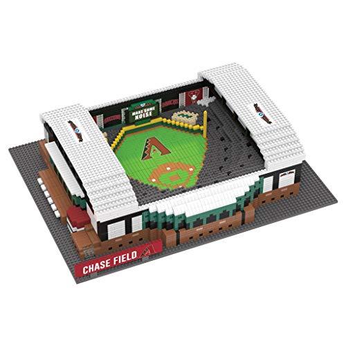 MLB Arizona Diamondbacks Unisex 3D Brxlz- STADIUM3D Brxlz- Stadium, Team Color, One Size