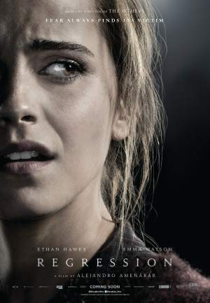 Regression – Emma Watson – Canadian Movie Wall Poster Print - A4 Size Plakat Größe