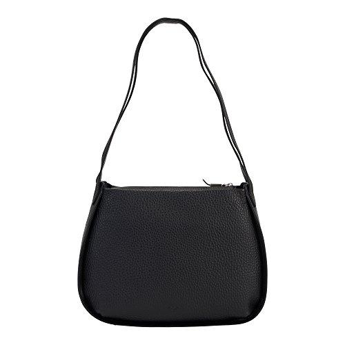 voi leather design VOi Beutel 21915 Rindsleder Damen: Farbe: Schwarz