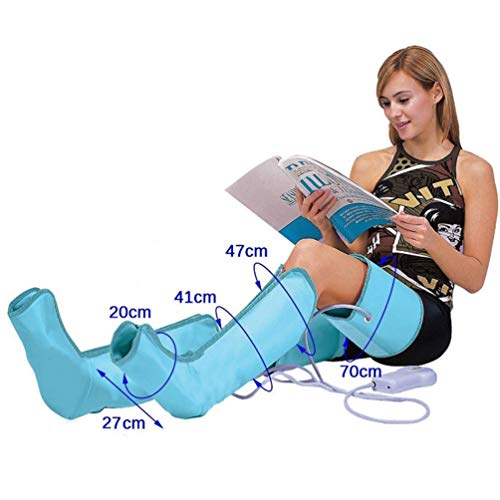 JJDD'G Massaggiatori per I Gambe e Piedi pressoterapia 10 Tecniche Massaggio a Onde per Piedi Vitelli Cosce per Casa e Ufficio