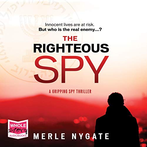 The Righteous Spy audiobook cover art
