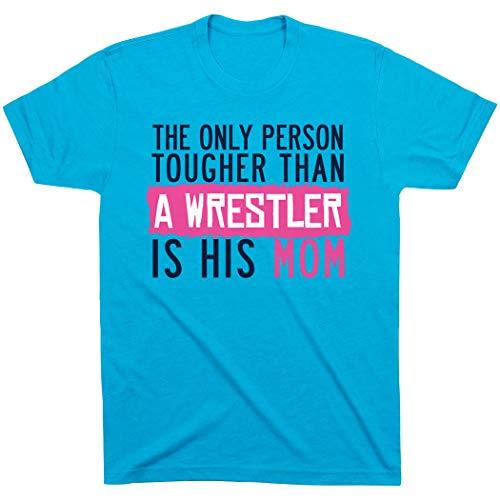 ChalkTalkSPORTS Tougher Than A Wrestler Mom T-Shirt |...