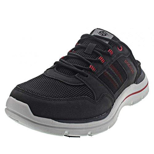 Dockers by Gerli Herren-Schuhe Sneaker, schwarz, 43 EU