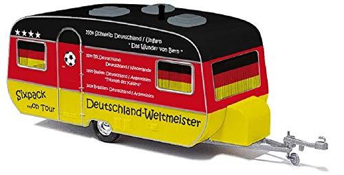 Busch 44962 Tabbert Wohnwagen Fussball Fans Spur HO 1:87