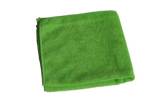 Semy Top Mikrofasertücher extra, grün, 40 x 40 cm, 1er Pack (1 x 20 Stück)