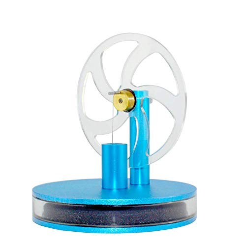 LSHUNYDE Générateur de modèle Flywheelsolar Energy Engine Model, Low Temperaturesolar Energy Engine, Creative Science Toy Gift, Laboratory Presentation Tool