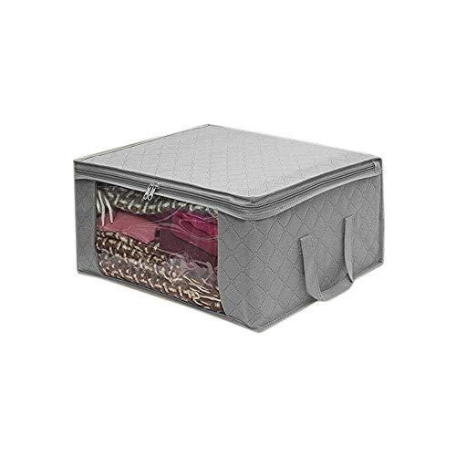 UTDKLPBXAQ Bolsa de Almacenamiento Plegable no Tejida para el hogar, Organizador de Ropa de algodón, edredones no Tejidos, Bolsa de Almacenamiento, Armario, Caja de clasificación de Ropa