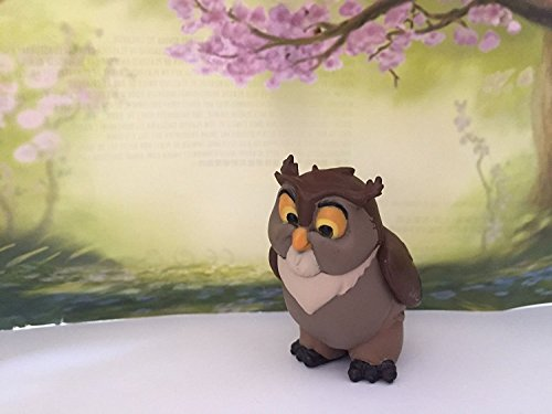 Disney Bambi 2' Forest Friend Owl Easter Loose PVC Figure Cake Topper Custom Figurine Toy