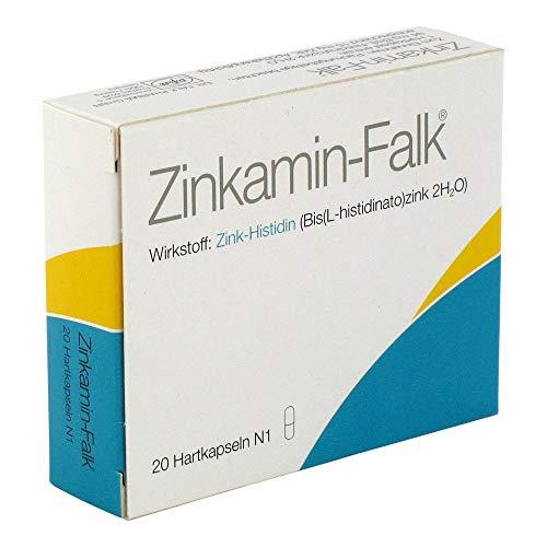 ZINKAMIN Falk 15 mg Hartkapseln 20 St