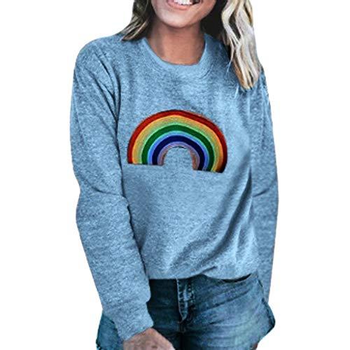 Auifor vrouwen bedrukt sweatshirt lange mouwen O-hals trui tops blouse