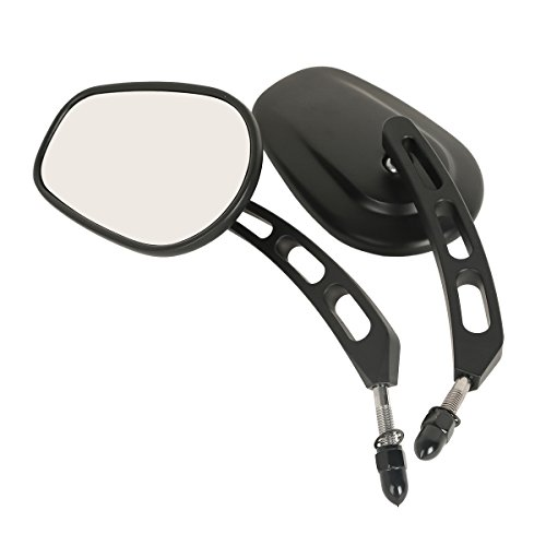 League /& Co 8/ mm Black Rear View Mirror for Harley Davidson Street Road King Electra Glide Ultra Classic 1983/ to 2016