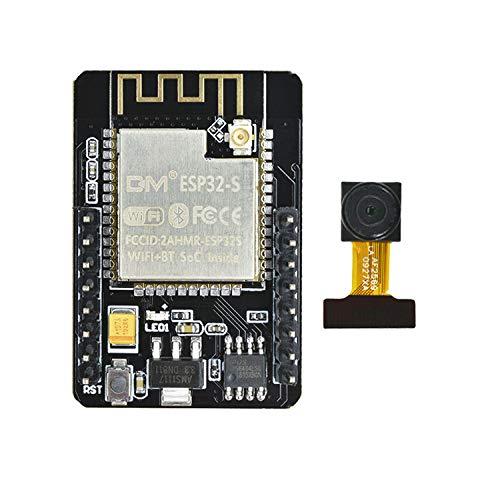 diymore ESP32 CAM DC 5V Dual-core 32-bit CPU 4M PSRAM Wireless WiFi Bluetooth ESP32 Camera Module 2MP TF Card OV2640 OV7670 Camera Development Board