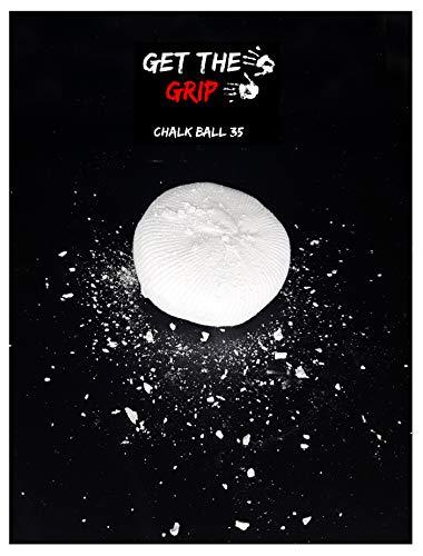 GET THE GRIP Magnesia/Chalk-Ball 35 Gramm! Bestes Powder zum Klettern, Bouldern, für Krafttraining, Crossfit und Turnen