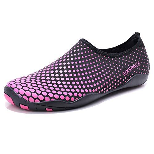 Sixspace Barefoot Water Shoes Men Women Lightweight Ladies Aqua Aerobics Shoes for Swim Running...